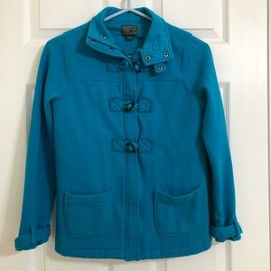 Roots Girl's Blue Jacket Size Extra Large
